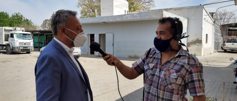 """Claudio Farías: """"Nosotros lo que pretendemos es cuidar la salud de la población"""""""