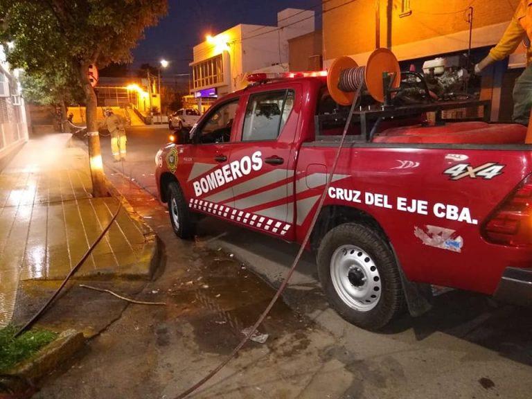 Cruz del Eje: Se confirman casos de coronavirus en bomberos