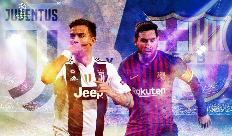 """Juventus recibe al Barcelona en un cruce de """"Champions"""""""