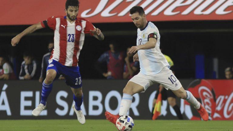 Con polémica por el VAR, Argentina igualó 1-1 ante Paraguay
