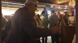 En la fiesta se vio a Ovelar. (El Diario de Carlos Paz)