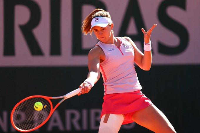 Nadia Podoroska no tuvo respuestas y quedó eliminada en Roland Garros