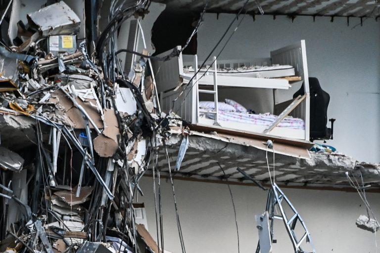 Así fue el momento del derrumbe del edificio de Miami