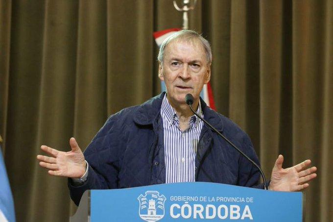 Schiaretti anunció las nuevas restricciones por 14 días para Córdoba: sin clases presenciales, ni reuniones sociales
