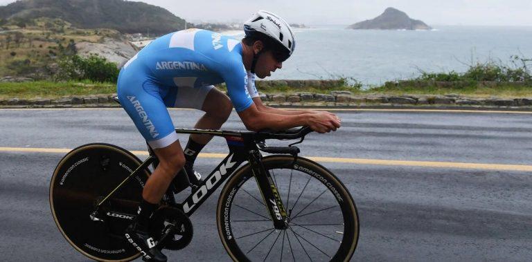 El chubutense Sepúlveda será el representante argentino en ciclismo de ruta en Tokio 2020