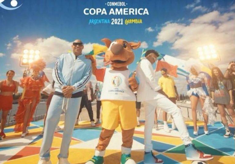 Escuchá el himno de la Copa América