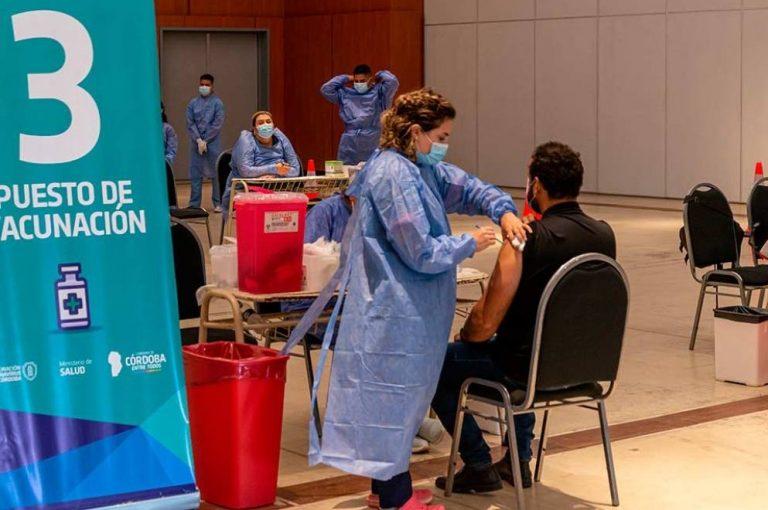 En Córdoba ya se aplicaron cerca de 1,3 millones dosis de vacunas contra el coronavirus