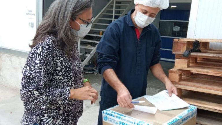 Cosquín recibió equipamiento médico de ibuprofeno inhalable