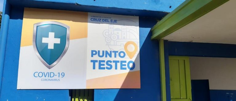 La municipalidad de Cruz Del Eje suma un centro de testeos móvil