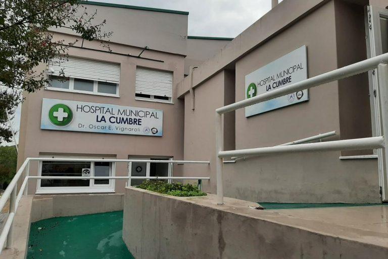El senador Caserio donó su aumento de sueldo al Hospital de La Cumbre